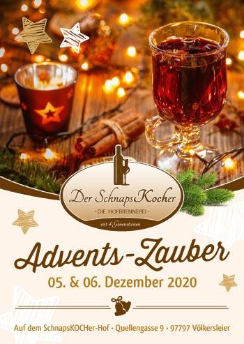 Adventszauber-Schnapskocher
